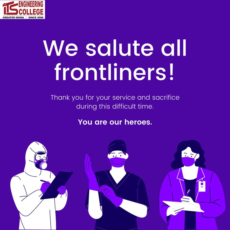 We salute all frontliners! in 2020 Best digital