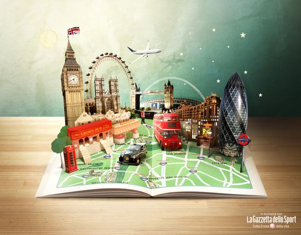 I Love Travel by Maria Datei, via Behance