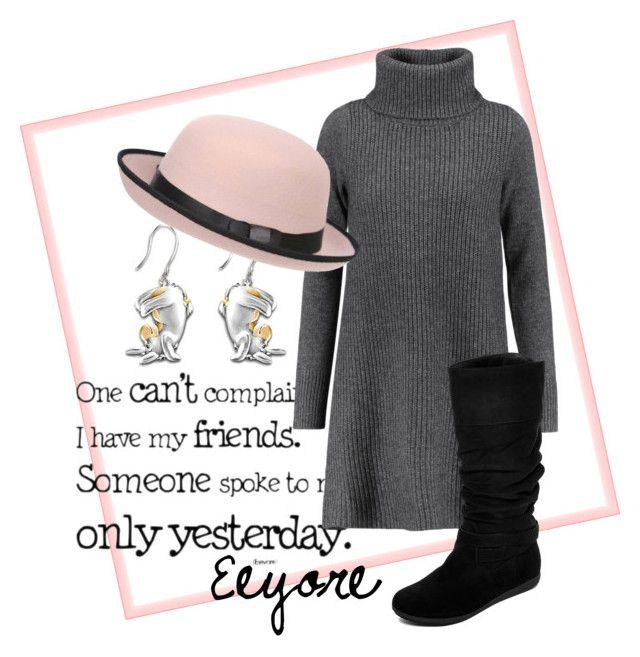 Eeyore by chelocean93 on Polyvore featuring polyvore fashion style Madeleine Thompson Arizona The Bradford Exchange Pilot clothing