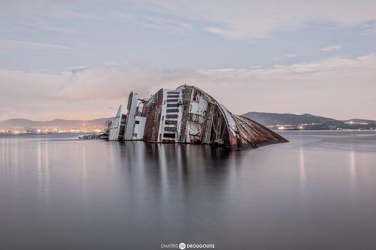 Shipwreck of Mediterranean Sky by Dimitris Drougoutis on 500px