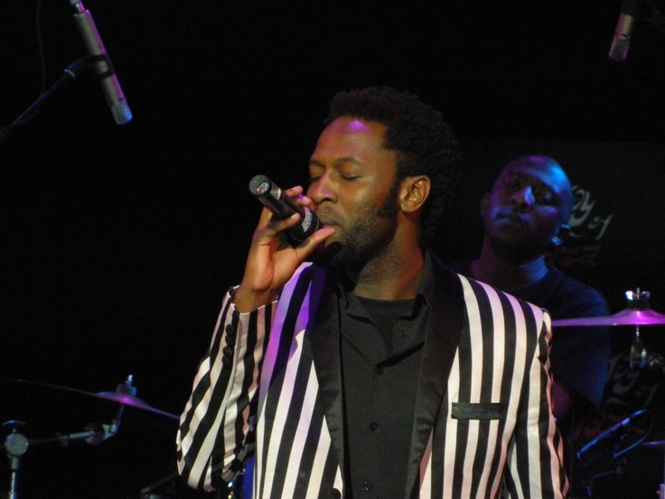 Malik performing at the Road to Joy Of Jazz at Lyric theatre