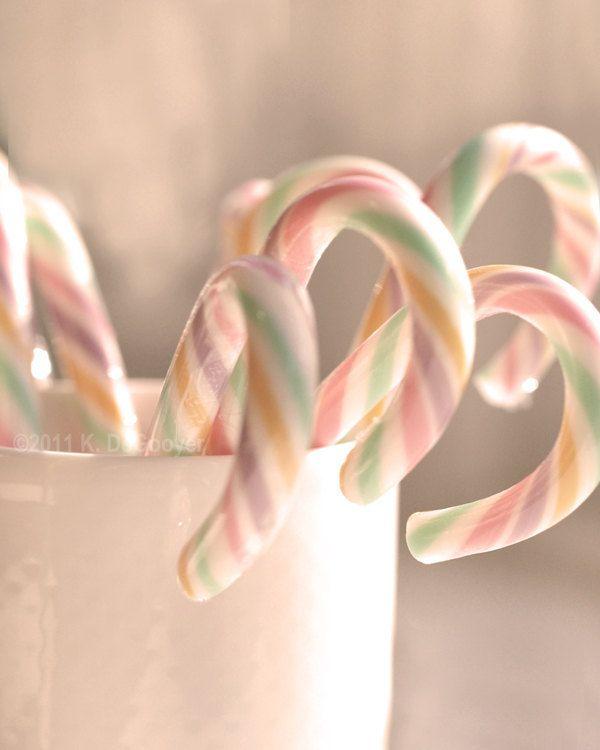 Pastel candycanes