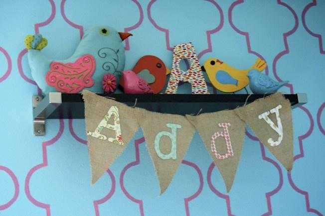 Bird Themed Nursery