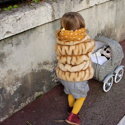 A statement Faux Fur Baby Coat can really embellish every look. I'm currently loving Monnalisa Kids Clothes so much! Their pieces are to die for! by Tappetino Rosso