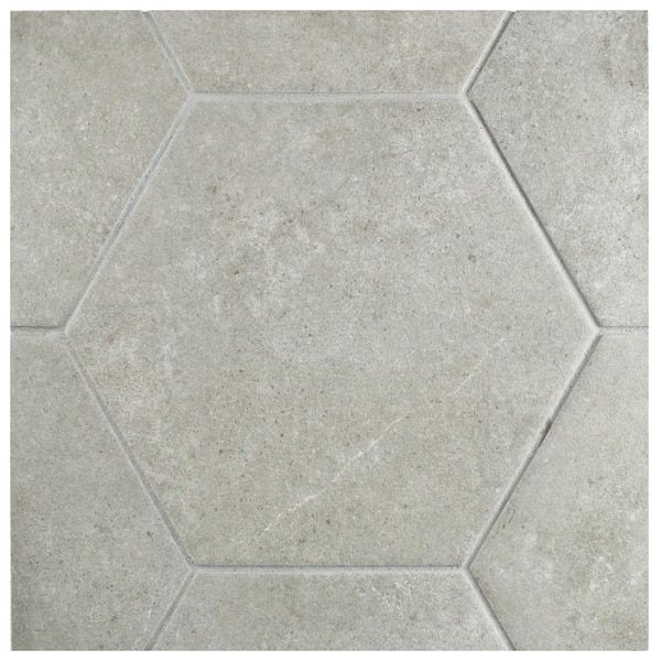 Designer White Abstract Ceramic Wall Tile Pack Of 8 L: Porcelain Flooring: A Collection Of Home Decor Ideas To