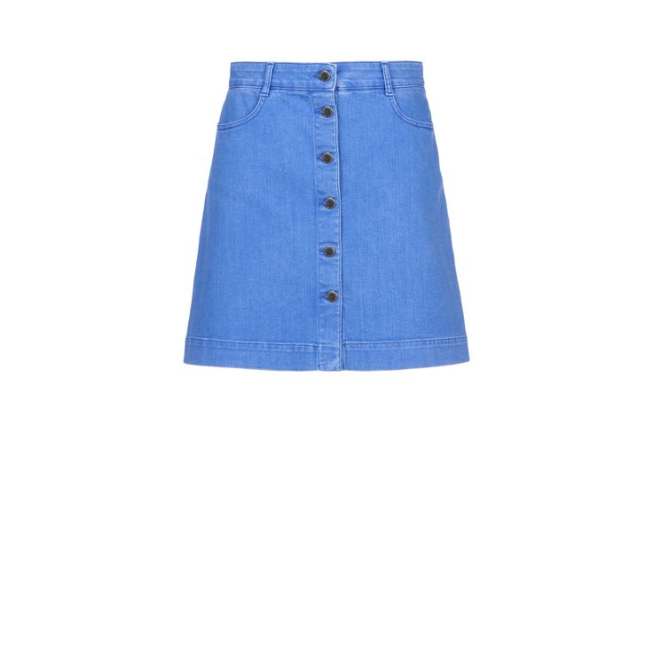 Shop the Supreme Blue Denim Skirt by Stella Mccartney at the official online store. Discover all product information.