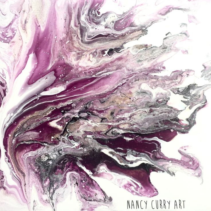 Dirty pour on YUPO  Nancy Curry Art Golden acrylic, ColourArte, Liquitex Pouring Medium and alcohol