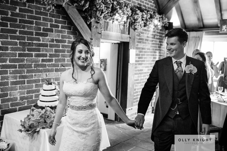 Being introduced in as the new Mr & Mrs  Copyright - Olly Knight https://www.ollyknightphotography.co.uk/