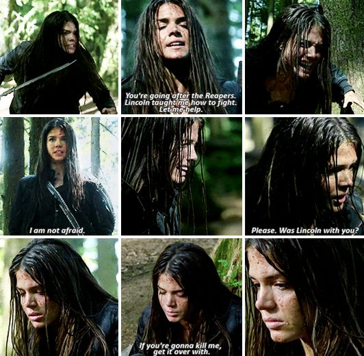 "The 100 - Octavia Blake #2.3 #Season2 ""You proved yourself well, Octavia of the sky people."""