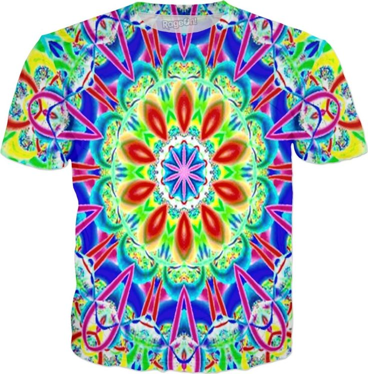 Paco Taco Fiesta Mix Bad Acid Trip Custom Rave Party Style Graphic Tee by Willy Badu.