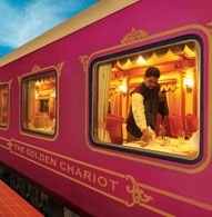 The Golden Chariot Train: Luxury Train of India.