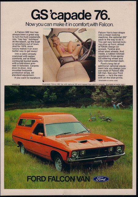 Ford XB Falcon GS Panel Van Ad