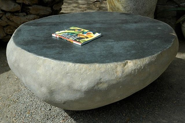 Solid Stone Coffee Table Beach House Tables Coffee Occasional Pinterest Stone Coffee Table