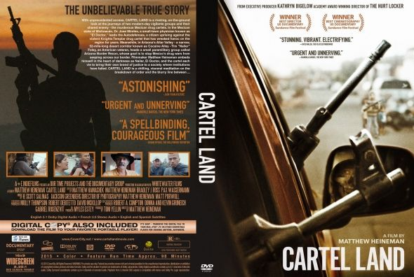 Cartel Land  Latino Inglés  DVD9  Cartel LandDVD9 | DVD FULL | NTSC | VIDEO_TS | 7.04 GB | Audio: Español Latino 5.1 Inglés 5.1 | Subtítulos: Español Latino Inglés Otros| Menú: Si | Extras: Si  Título original: Cartel Land Año: 2015 Duración: 98 min. País: Estados Unidos Estados Unidos Director: Matthew Heineman Música: H. Scott Salinas Fotografía: Matthew Heineman Matt Porwoll Reparto: Documentary Productora: Coproducción Estados Unidos-México; Our Time Projects / The Documentary Group…