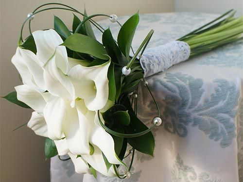 Букет на свадьбу калов доставка цветов актау