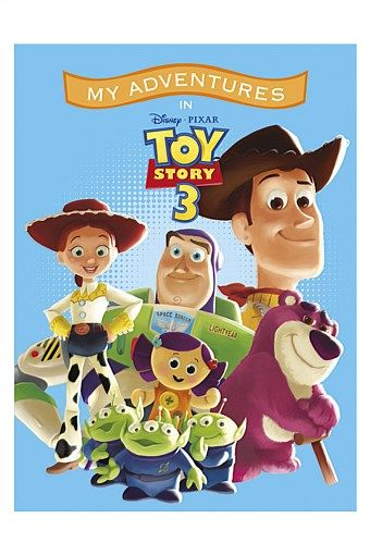 Personalised Gifts | Make Unique Gifts Online - Personalised Toy Story 3 Adventure Book