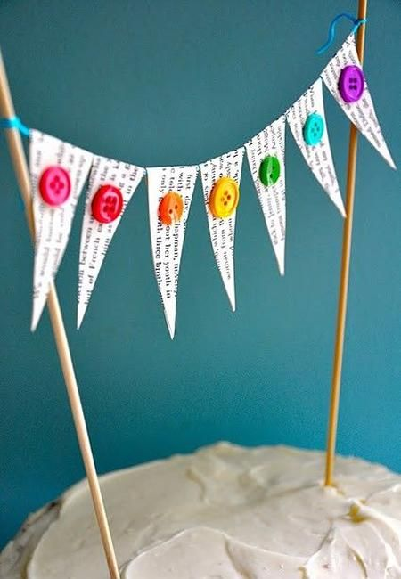 fiesta infantil toppers tarta cumpleaños4 10 Toppers para decorar una tarta de cumpleaños