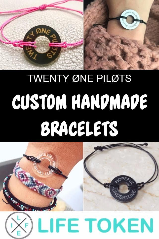 Create a bracelet with what matters to you the MOST  Pick your favorite colors  customize your message and wear your feelings! SHOP NOW