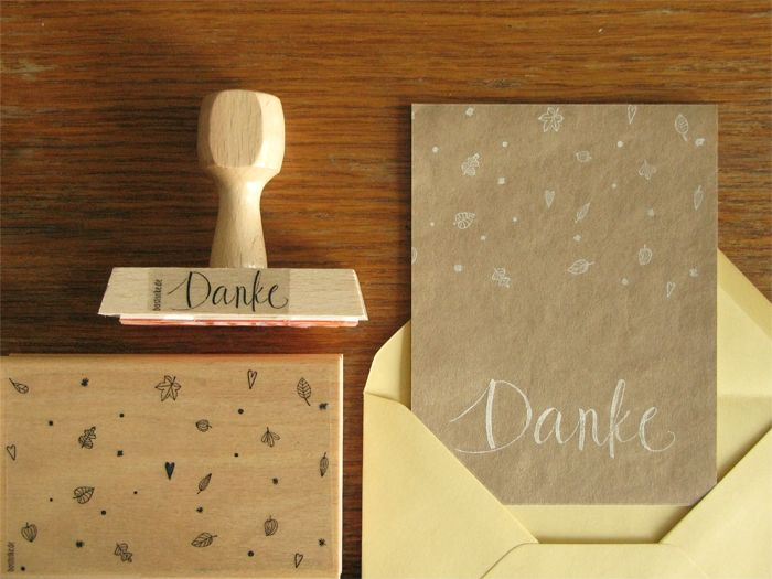 bastisRIKE: autumnal wedding stationary