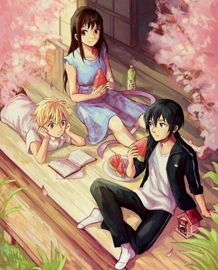 Yato, Hiyori and Yukine