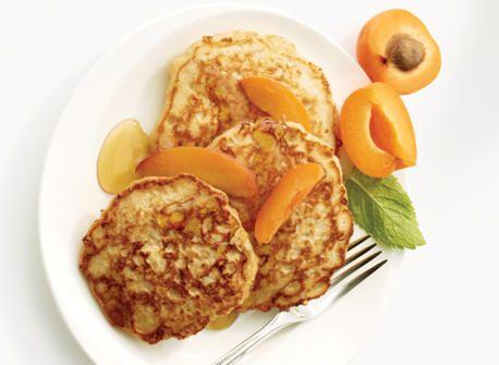 All-Canadian Havarti Maple Oat Pancakes
