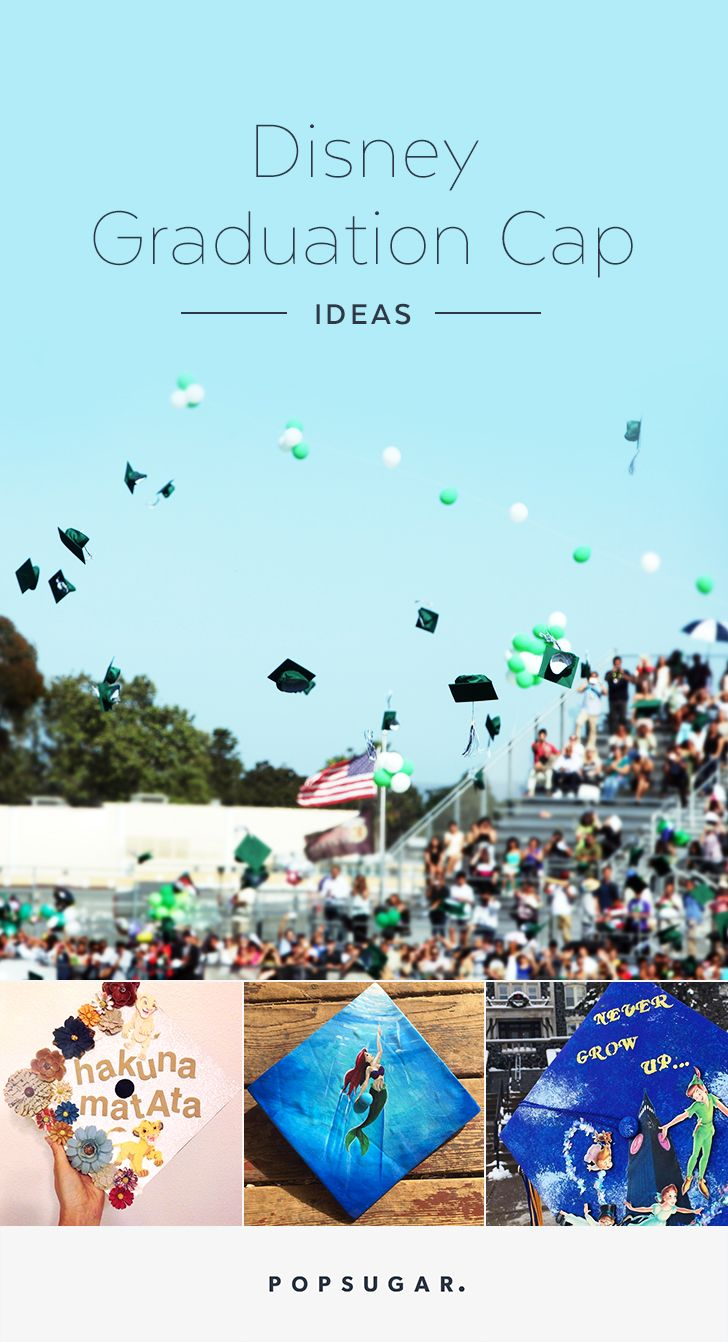 43 Creative Disney Graduation Cap Ideas You Can DIY