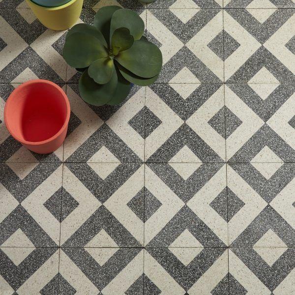 Terrazzo collection garda pattern 20 x 20 x 1 6cm