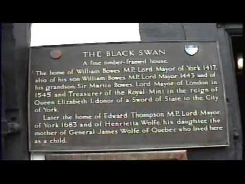 Visit to the infamous, haunted Black Swan Pub in York, England. What sorts of spirits will we find?