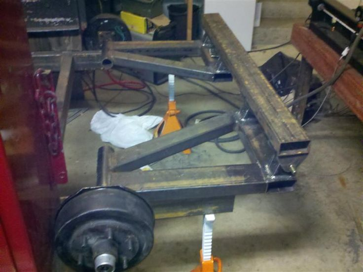 Building a linked and air bagged car hauler trailer. - Page 2 - Pirate4x4.Com : 4x4 and Off-Road Forum