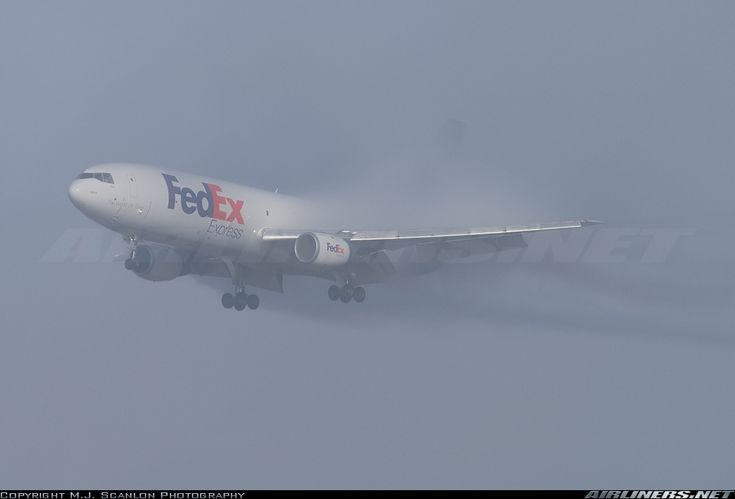 FedEx Amazing!!!!!!  McDonnell Douglas (Boeing) MD-10-10F at Memphis