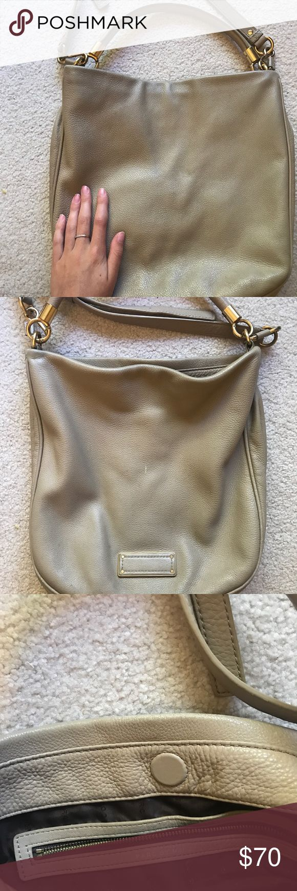 Large Marc by Marc Jacobs crossbody bag - Cream Cream Marc Jacobs purse in great condition. Marc By Marc Jacobs Bags Crossbody Bags