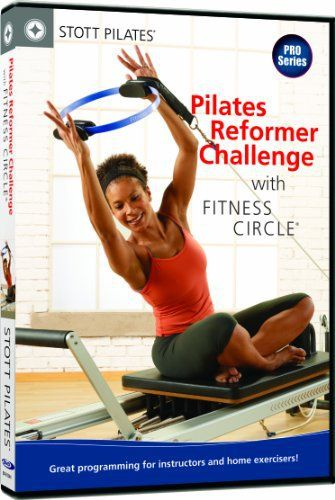 STOTT PILATES Pilates Reformer Challenge with Fitness Circle - http://www.exercisejoy.com/stott-pilates-pilates-reformer-challenge-with-fitness-circle/fitness/