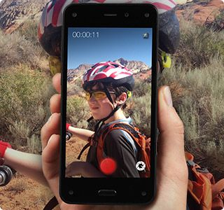 Amazon Fire Phone - 13MP Camera, 32GB - Shop Now Record in 1080p at 30 fps from both front and rear-facing cameras, for great-looking video no matter where you want to shoot.
