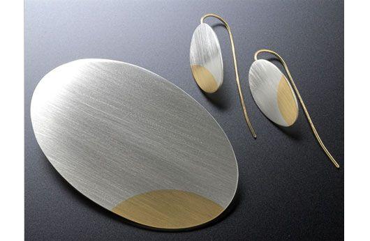 Jane Macintosh brooch & earrings