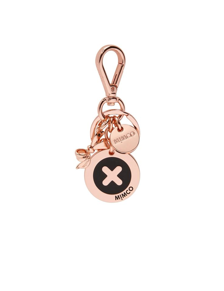 Mimco Keychain Rose gold copper
