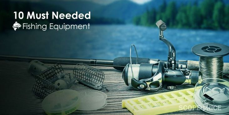 Top 10 Mostly Needed Fishing Equipment