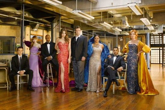 Castle (ABC). Sustained purely by the charm of its actors.