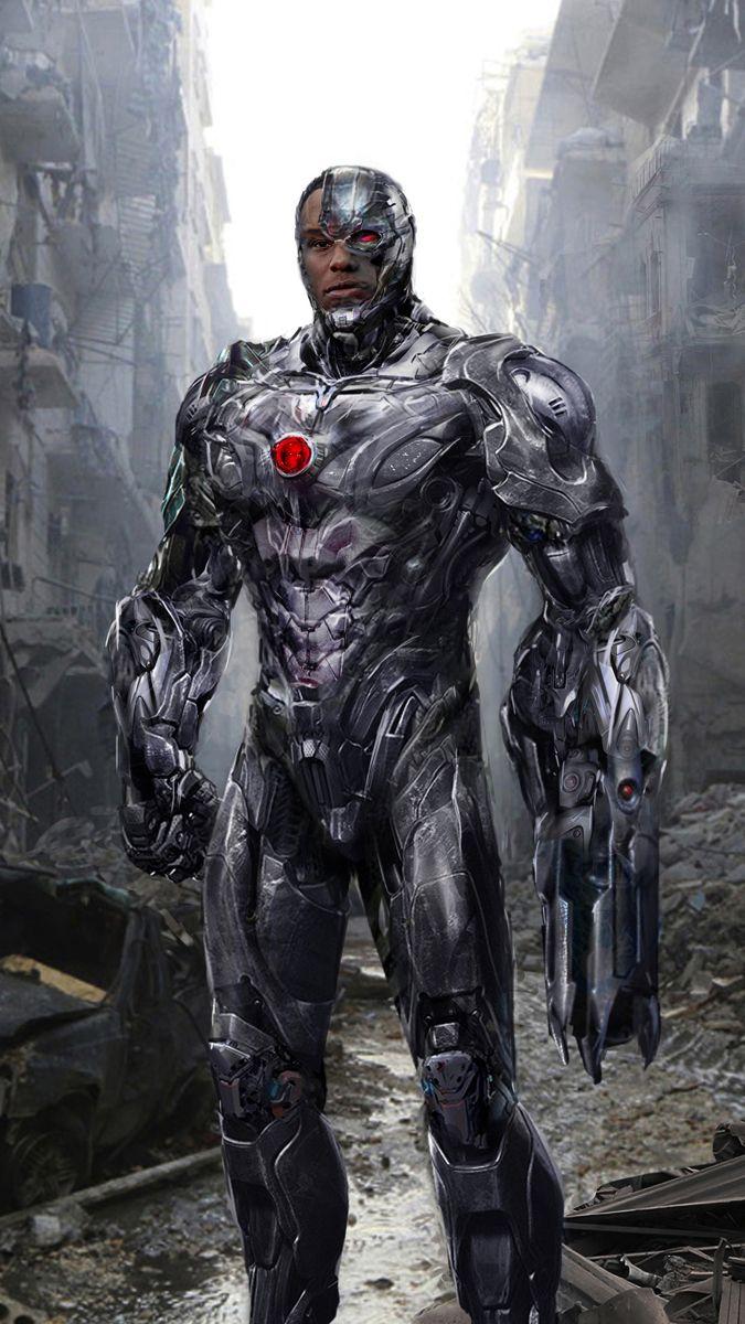 Cyborg by John Gallagher Ray Fisher will play Cyborg in Batman V Superman Dawn Of Justice.  #DC
