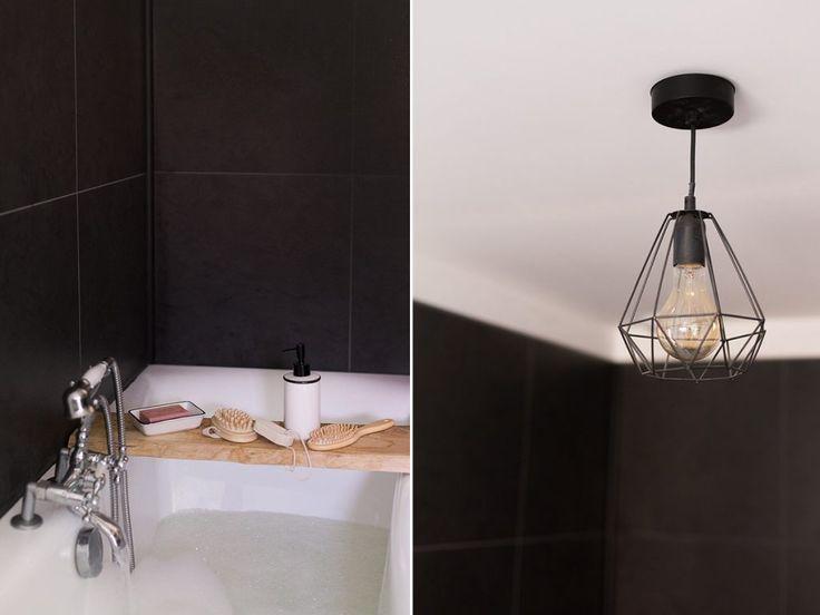 17 meilleures id es propos de salle de bains lambris sur pinterest boiserie en bois blanche. Black Bedroom Furniture Sets. Home Design Ideas