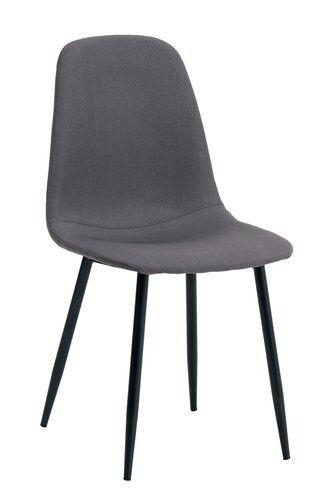 Krzesło JONSTRUP szare/czarne