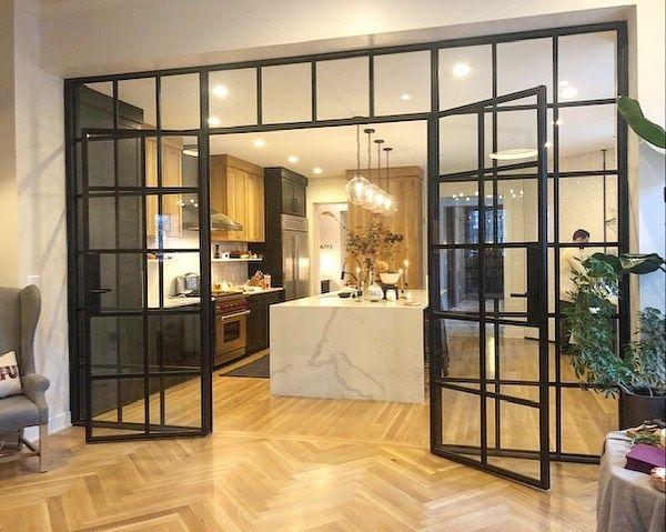 Manhattan Steel Door Co On Instagram Interior Double Door With