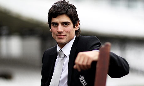 alastair cook, portrait