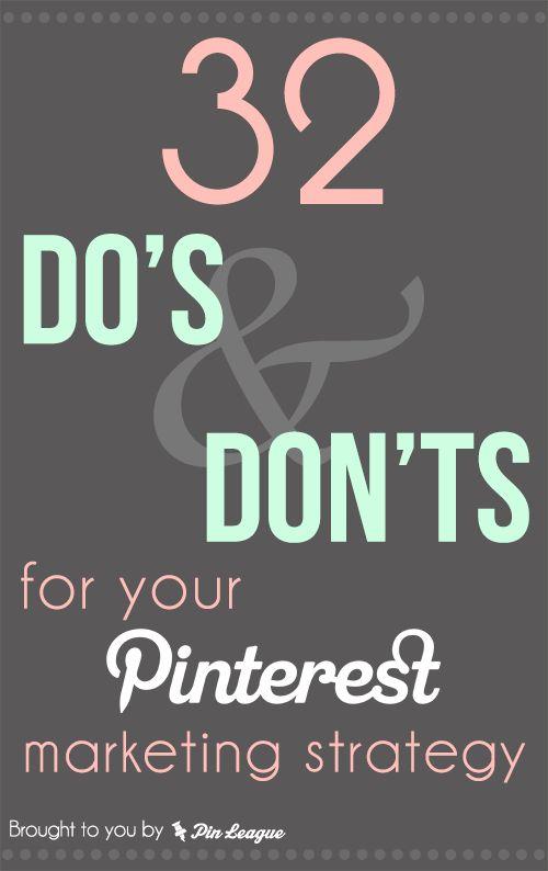 Pinterest marketing for B2B organisations - 32 helpful tips from @PinLeague Team