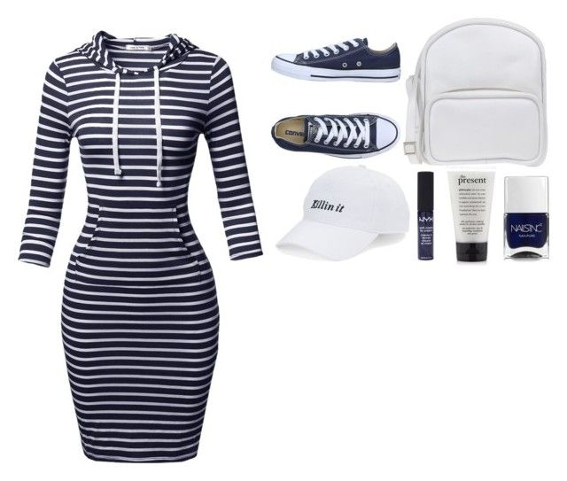 """//They see me rollin', they hatin'//"" by musicislife-983 ❤ liked on Polyvore featuring Converse, Jil Sander Navy, Nails Inc., philosophy, NYX and SO"