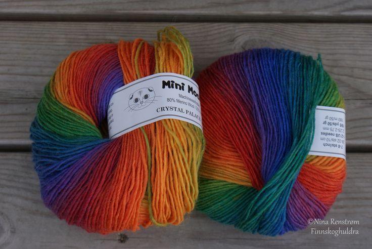 Regnbuefarget Mini Mouchi
