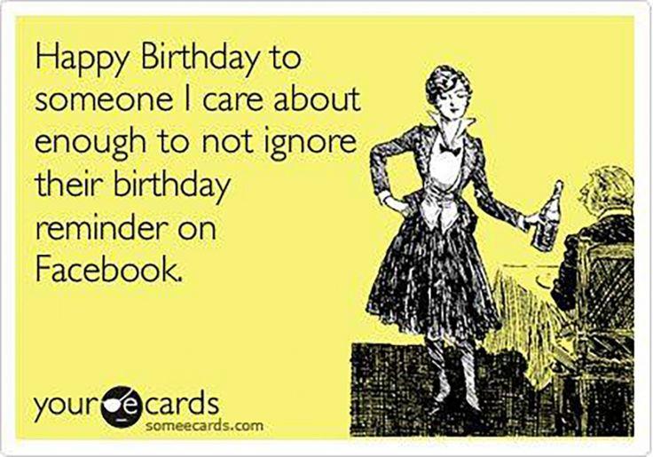 Dirty birthday card