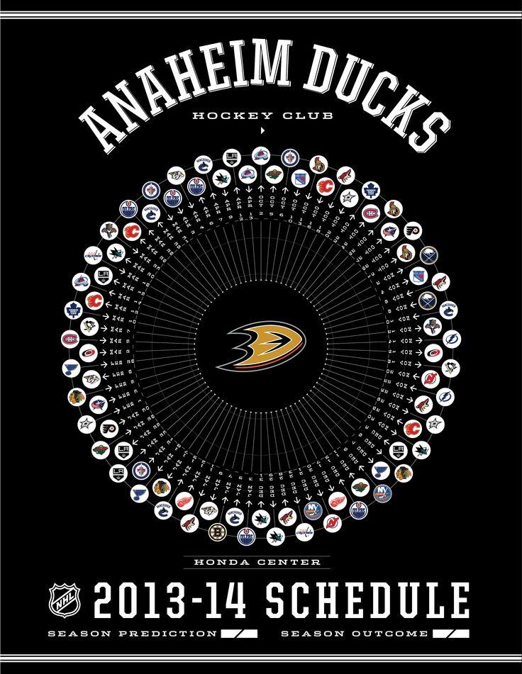 Anaheim Ducks 2013-14 Schedule