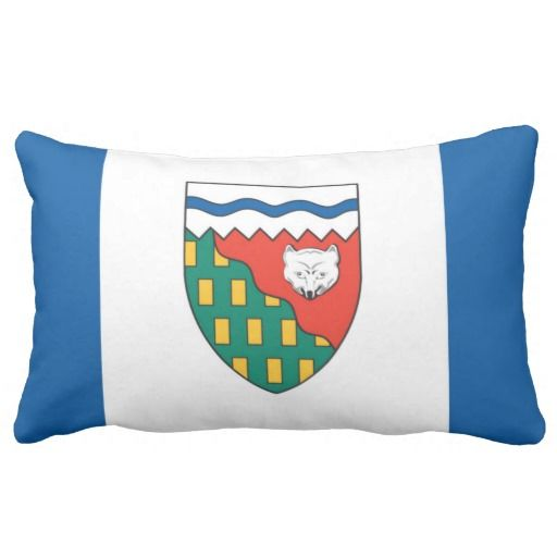 Provincial Flag Of #NorthwestTerritories Throw Pillows