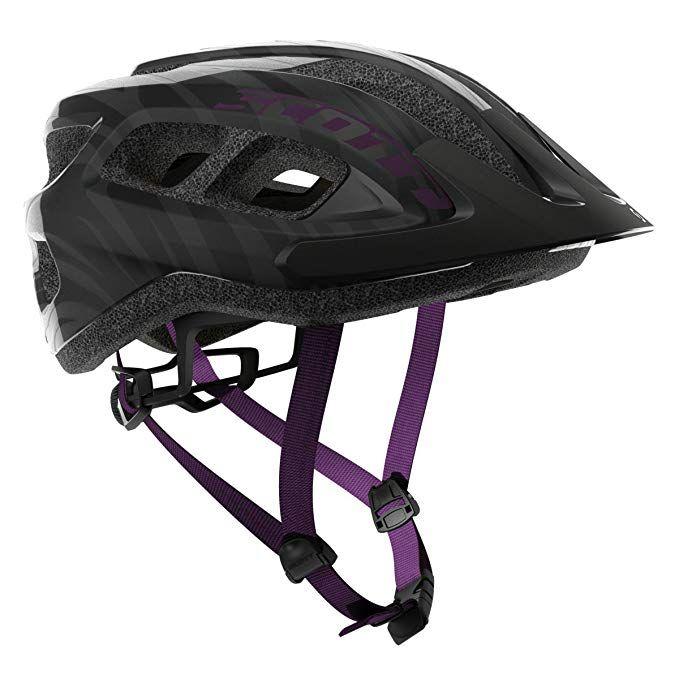 Scott Supra Bike Helmet Black Violet Review With Images Bike