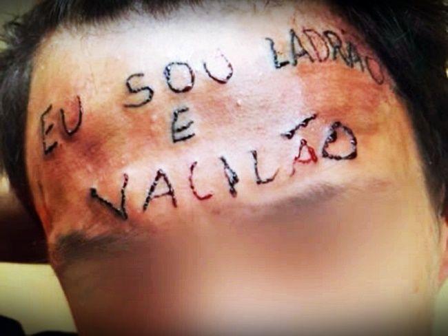 'Vaquinha' arrecada dinheiro para remover tatuagem de testa de adolescente
